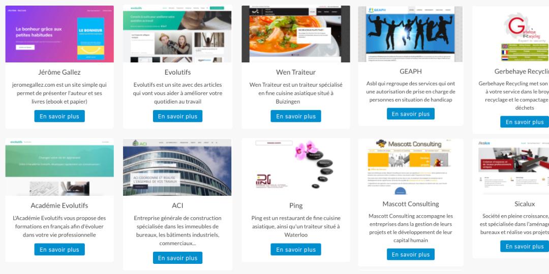 Websites door WAGA4